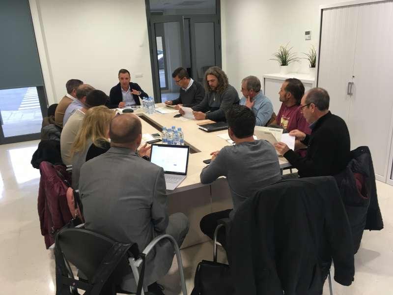 Reunión de la CVI. EPDA