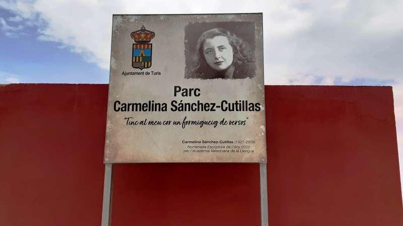Parc Carmelina Sánchez-Cutillas./EPDA