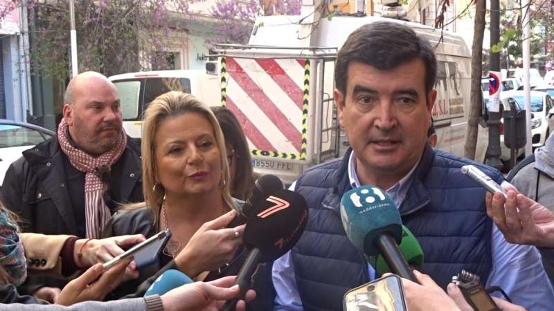 Fernando Giner y Amparo Picó. EPDA
