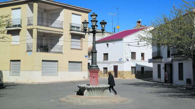 Plaza Enrique Pedrón de Fuenterrobles. EPDA