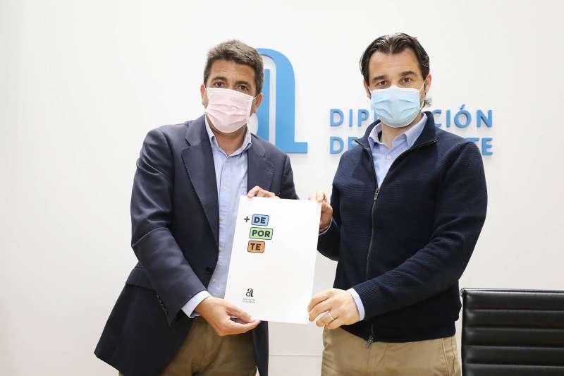 Carlos Mazón y Eduardo Dolón/EPDA
