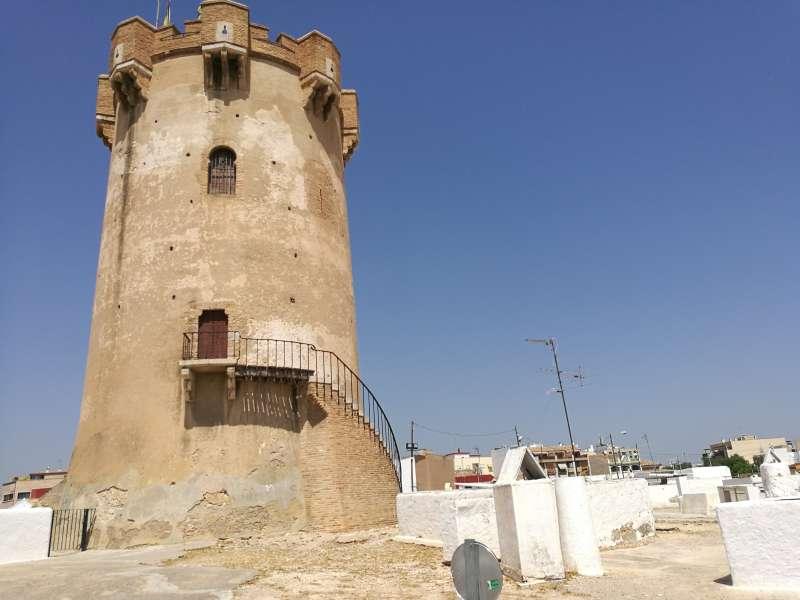 La torre, un símbolo de Paterna. B. BUENO