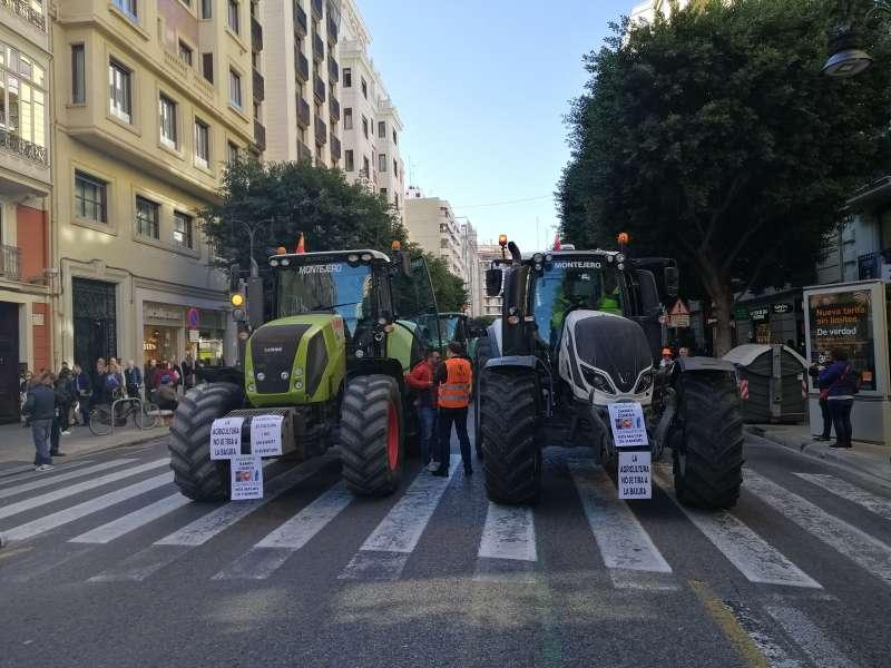 Manifestación de Valènci. VC