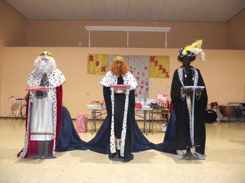 Los tres Reyes Magos en Albalat dels Tarongers. FOTO EPDA