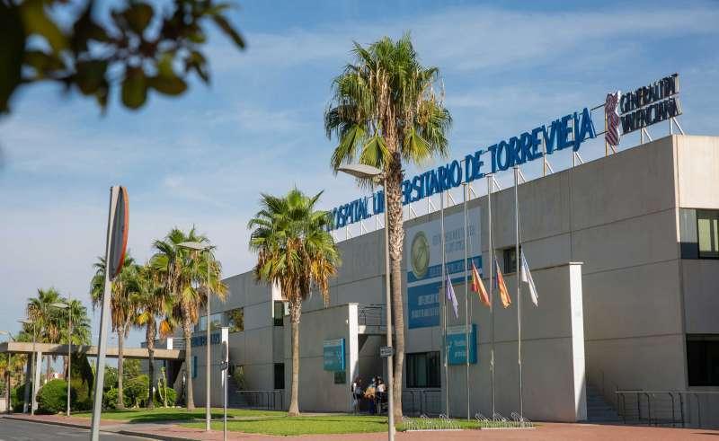 Hospital Universitario de Torrevieja. Archivo EPDA.