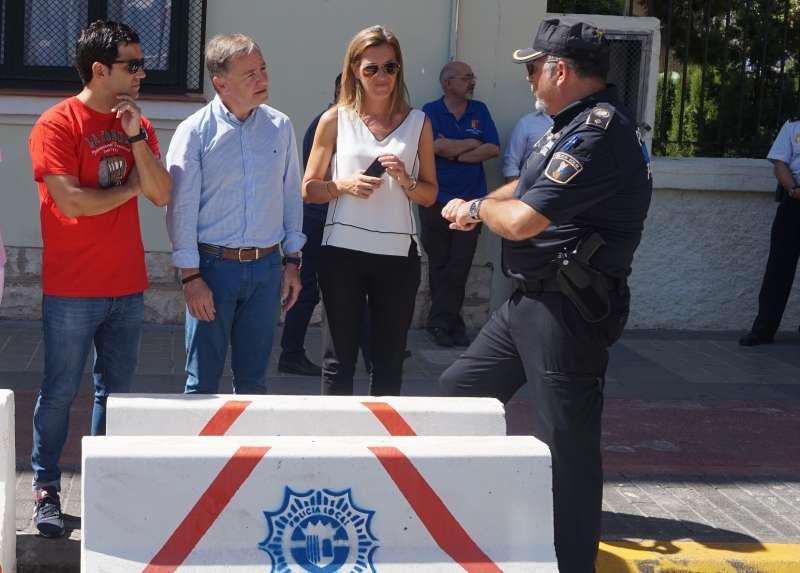 Visita a Paterna del Delegado del Gobierno en la Comunidad Valenciana.