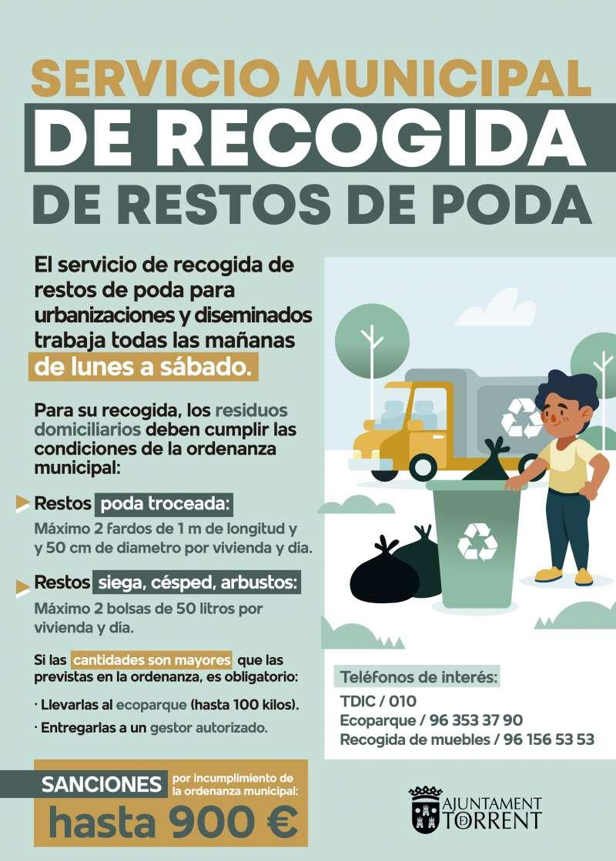 Campaña de recogida de poda. EPDA