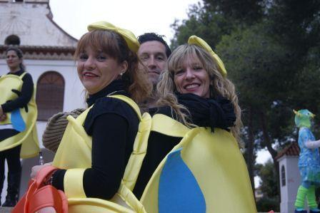 Cabalgata de disfraces en Godella.