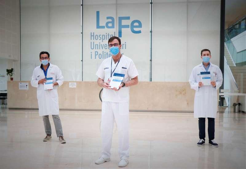Imagen de archivo de la presentación de una publicación sobre farmacocinética en la Hemofilia por parte del hospital La Fe / GVA