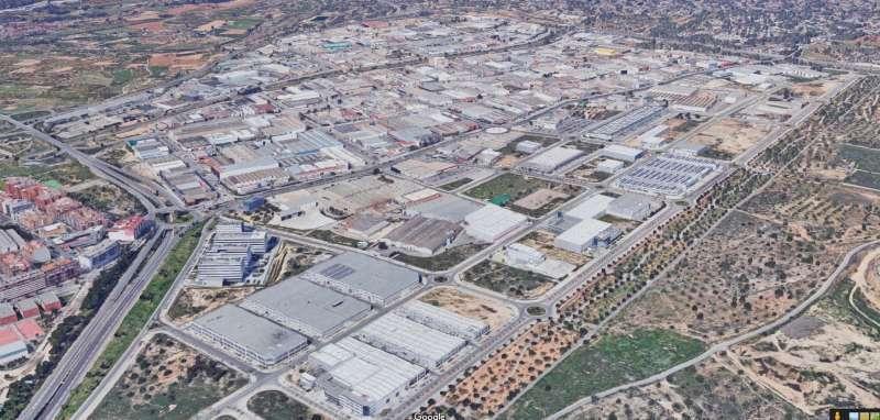 Polígono industrial de Fuente del Jarro