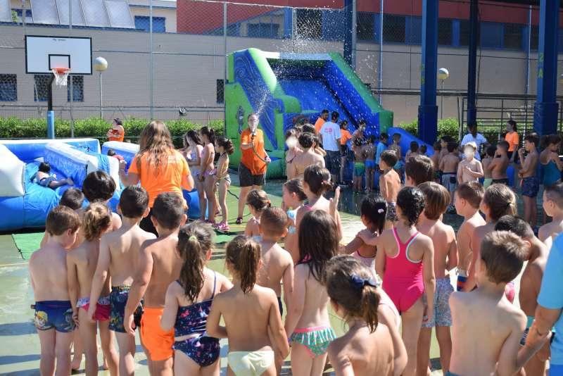 Escuela de verano en Benetússer