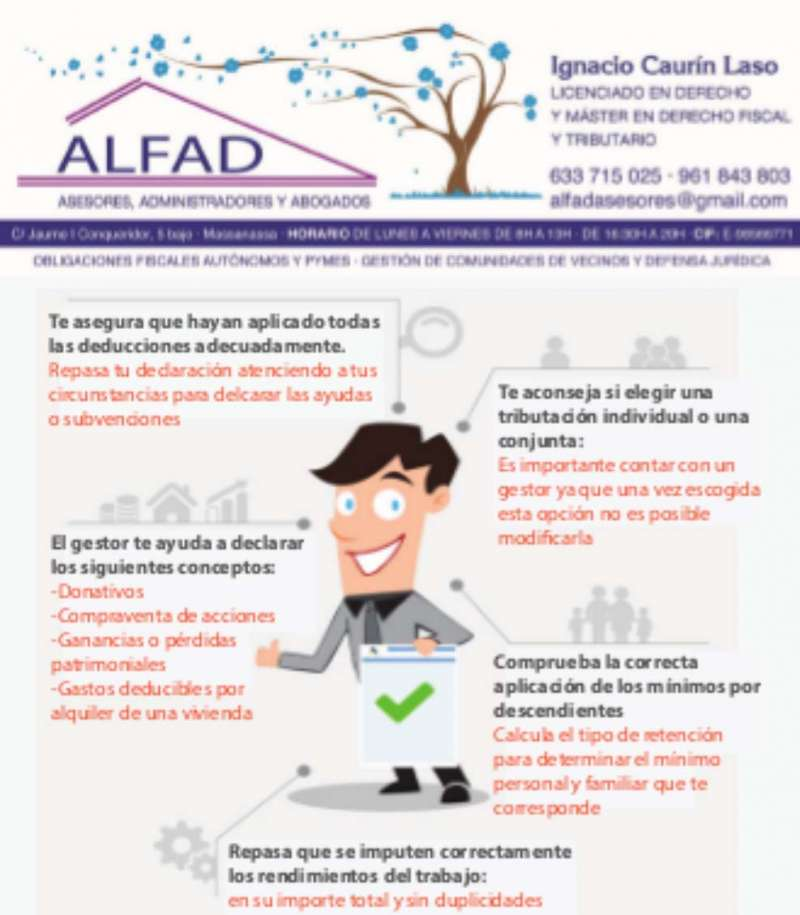 Campaña de Alfad Asesores de Massanassa. EPDA