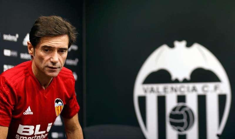 El entrenador del Valencia CF, Marcelino García Toral. EFE/Archivo