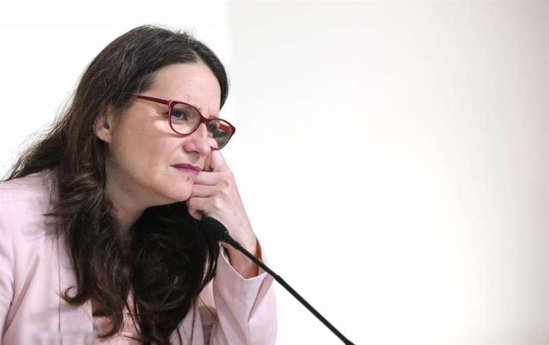 La vicepresidenta, Mónica Oltra.