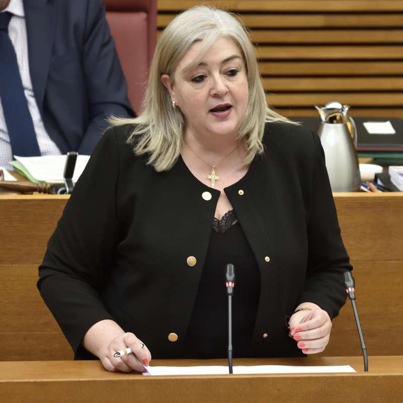 La diputada del Grupo Parlamentario VOX Comunidad Valenciana, Ana María Cerdán.