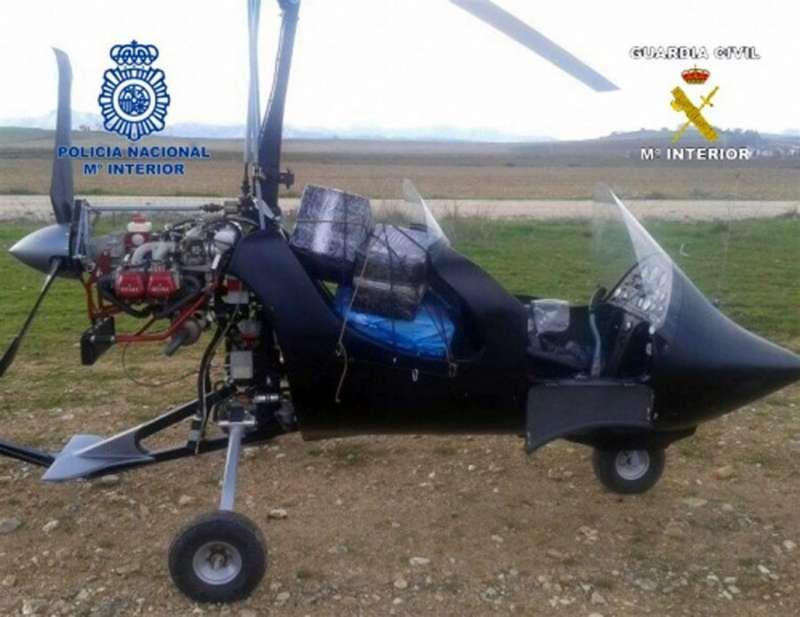Imagen de archivo de un autogiro facilitada por el Ministerio del Interior.