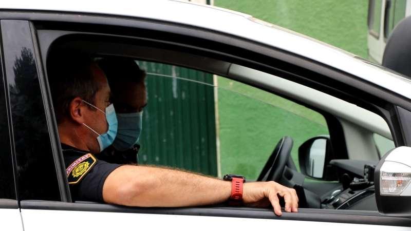 Agentes de la Policía Local de Valencia. EPDA