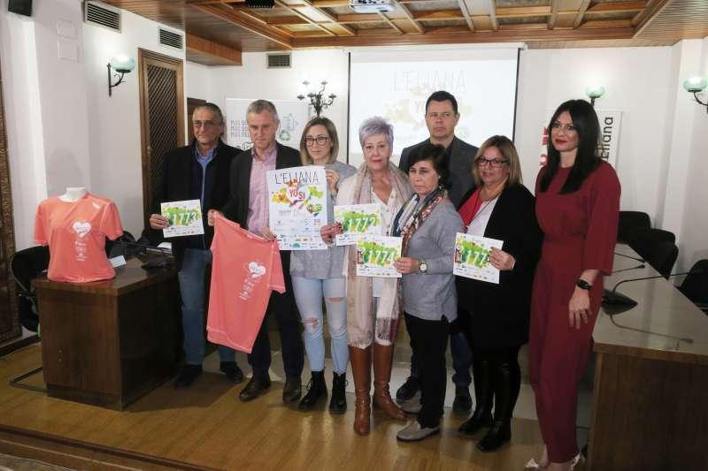Presentació de la V Marxa Solidària contra el Càncer. / EPDA