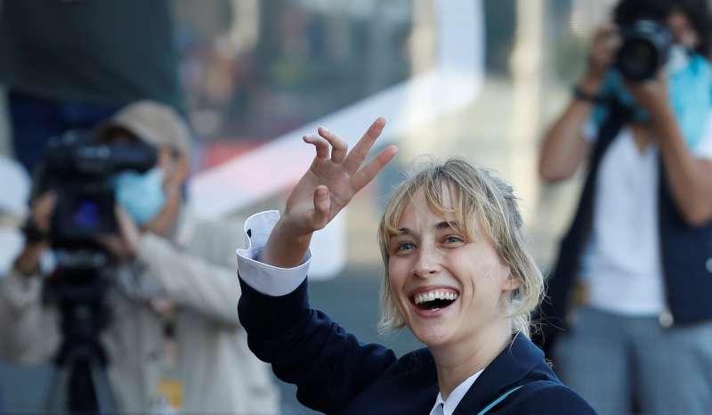 La actriz hispano-sueca Ingrid García Jonsson