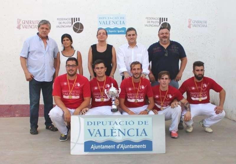 El CPV Faura ha guanyat en dos ocasions el Trofeu d´estiu de primera categoria.
