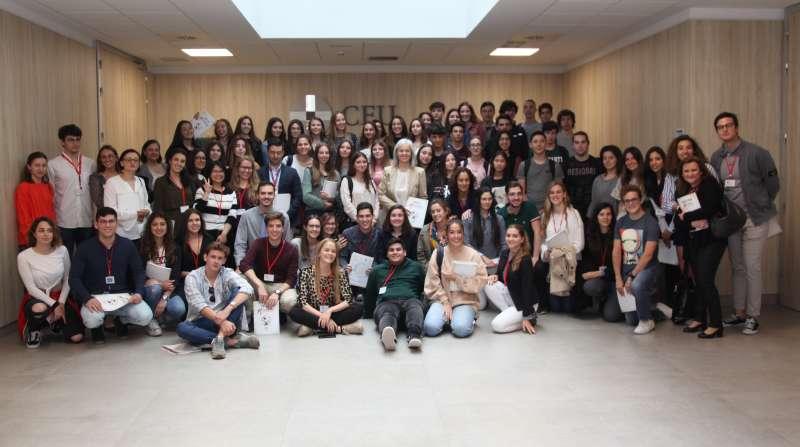 Estudiantes de 7 colegios valencianos han participado en el proyecto SWI este curso, junto a la Universidad CEU Cardenal Herrera
