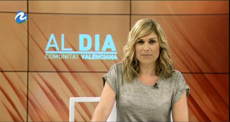 El informativo Al Dia CV está presentado por Carme Bort. EPDA.