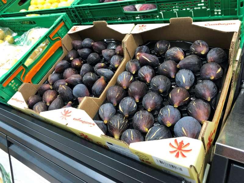 Higos frescos disponibles en la sección Fruta y Verdura de Mercadona