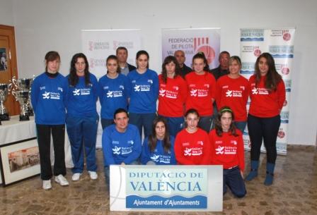 Los equipos de Borbotó, Beniparrell, Alquería y Bicorp. FOTO: DIVAL