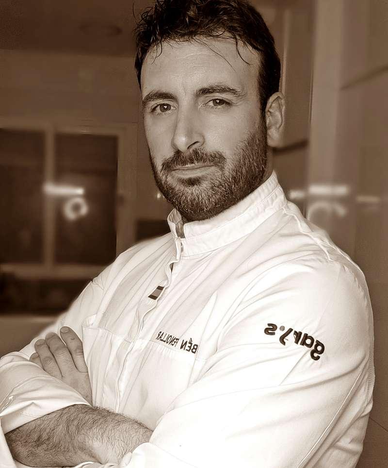 El Chef valenciano, Rubén Fenollar. EPDA
