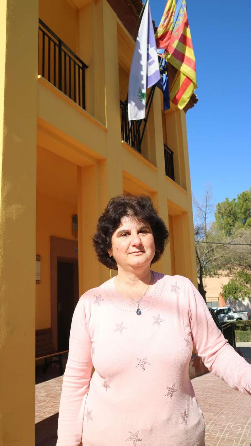 Estefanía Berlanga (alcaldesa de Fuenterrobles)