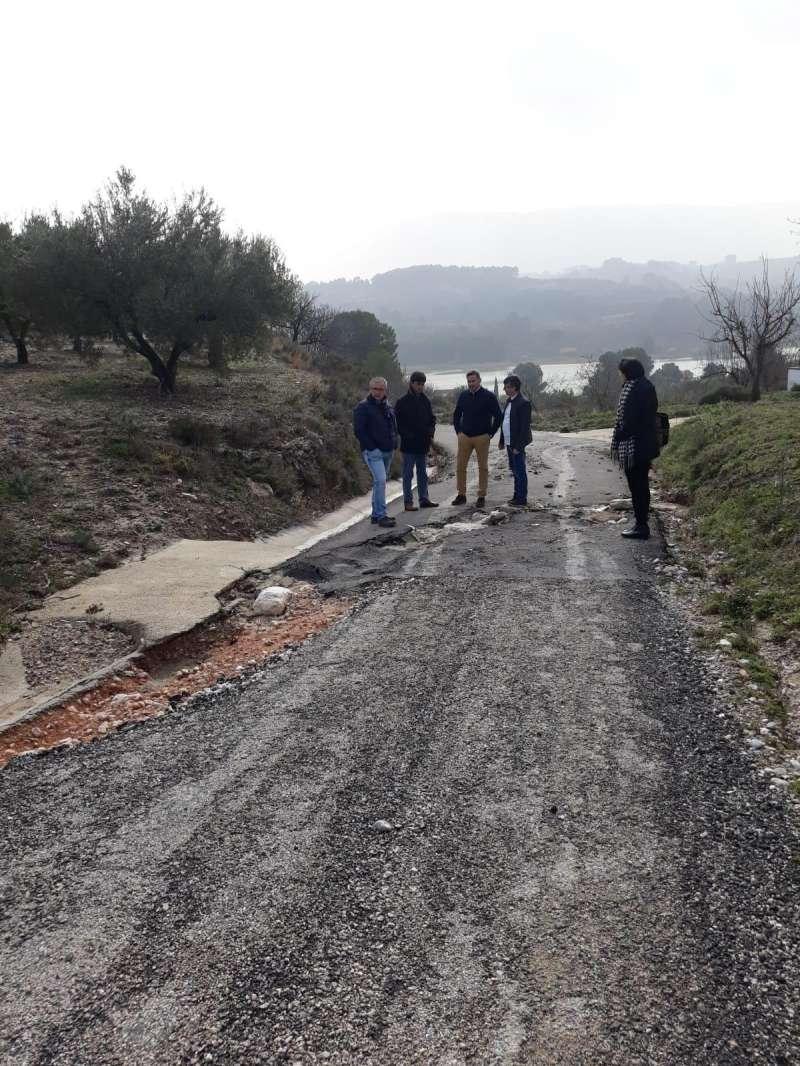 Daños causados por el temporal en Alicante. EPDA