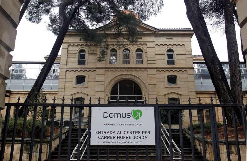 Imagen de marzo de 2020 de la residencia de ancianos Domus Vi de Alcoi (Alicante). EFE