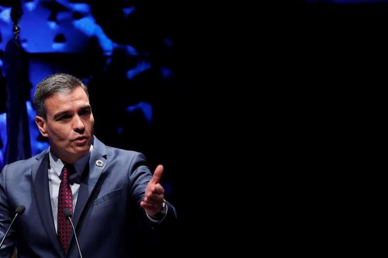 El presidente del Gobierno español, Pedro Sánchez, pronuncia un discurso durante la inauguración del IV Congreso Iberoamericano CEAPI