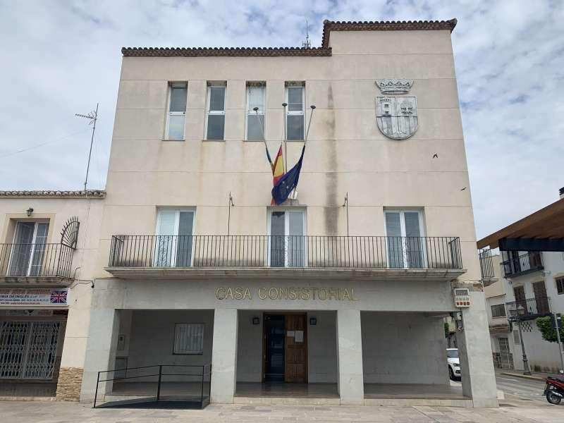 El Ayuntamiento de Benagéber. EPDA.