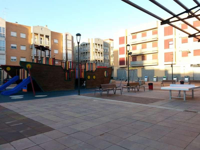 Un parque de Alfafar. EPDA