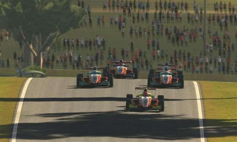 Una carrera de la W Series, en una imagen compartida en redes por la organización.
