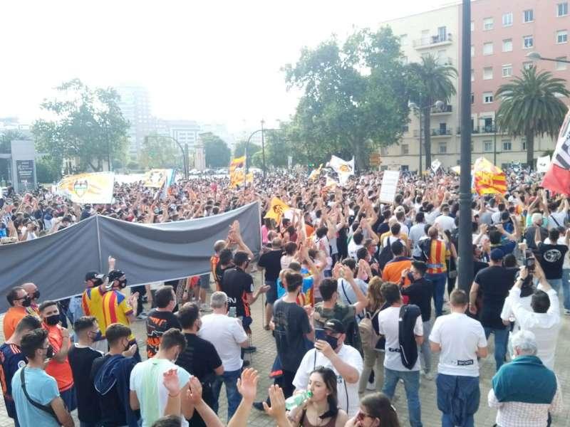 Manifestación en Valencia. Foto de Libertad VCF