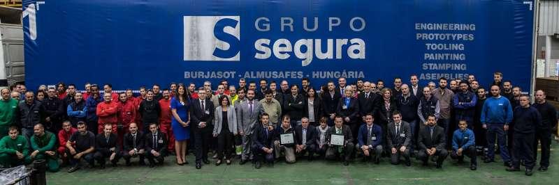 Grupo Segura cuenta actualmente con cerca de 1.000 trabajadores