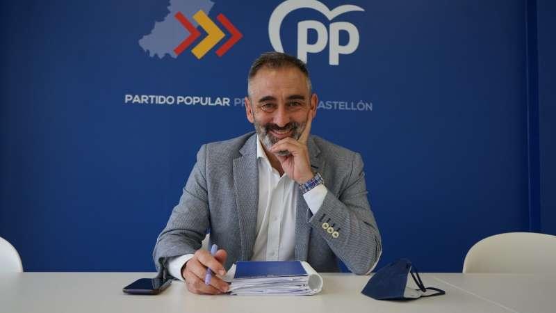 Miguel Barrachina, presidente provincial del PPCS