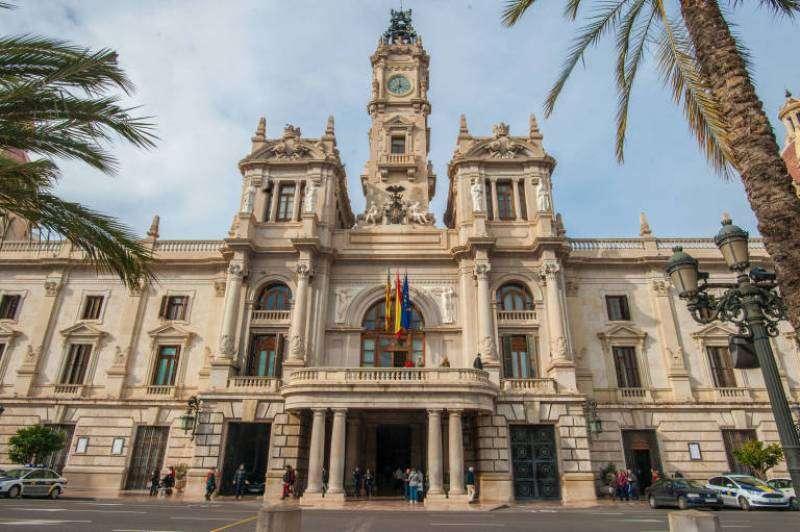 Imagen de archivo Ajuntament de València.EPDA