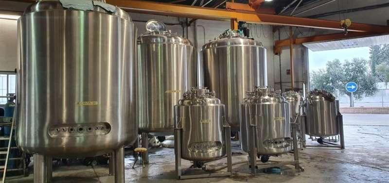 Una imagen de los reactores, facilitada por la compañía. EFE