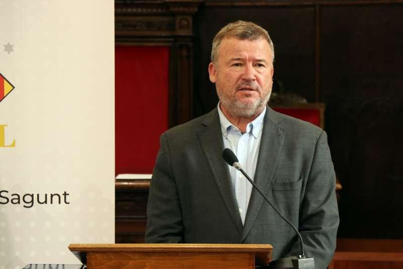 El portaveu de Compromís en Sagunt, Quico Fernández.