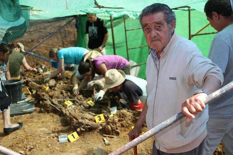 Exhumación de represaliados por el franquismo. EPDA