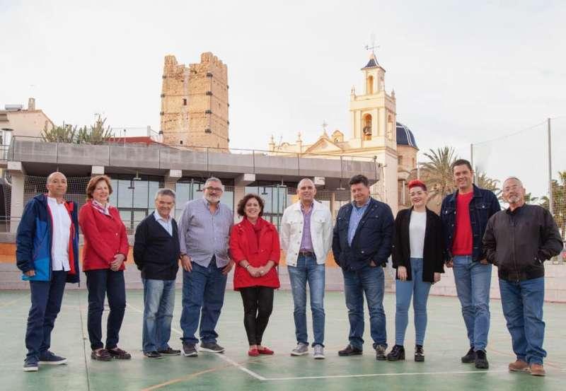 Lista electoral del PSOE