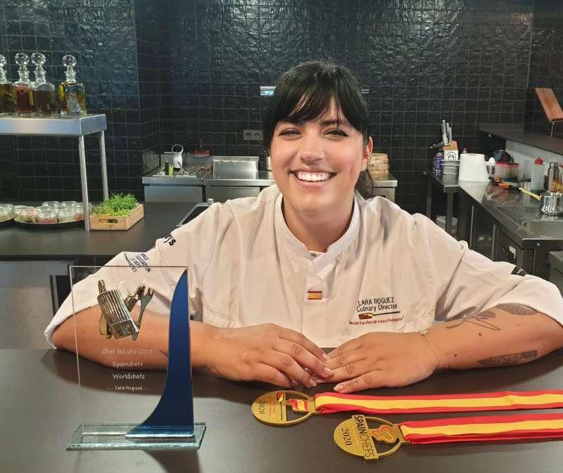 Lara Roguez - Premio Chef del año 2020