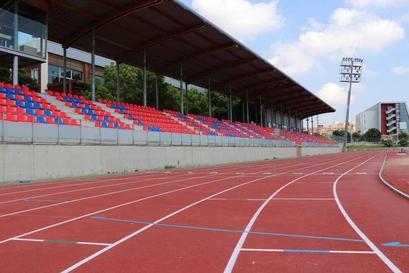 Pista de atletismo del Parc Central
