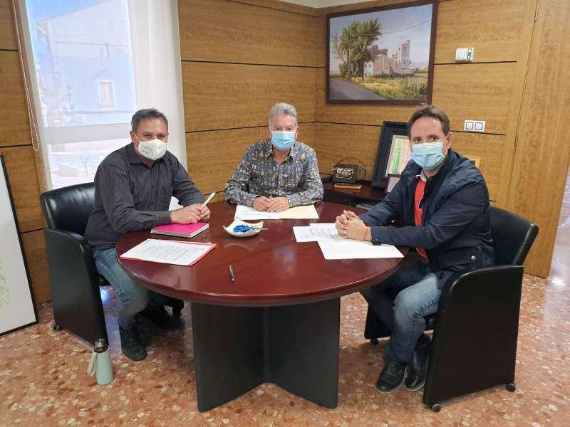 Reunió de Claramunt, Andreu i Ruiz. EPDA