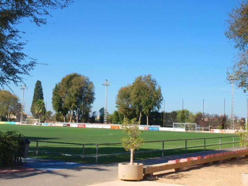 Imagen de las instalaciones en Foios mejoradas. EPDA