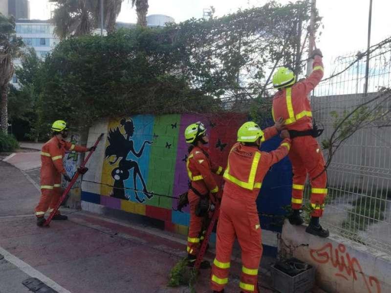 Foto twitter Consorci de Bombers de València