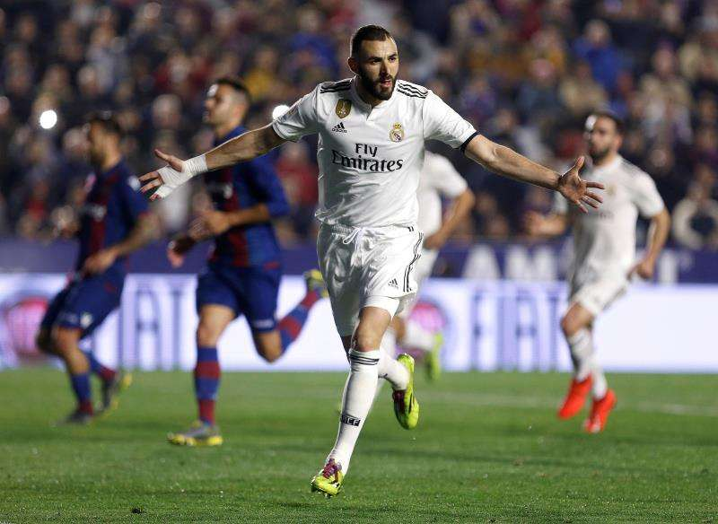 El delantero francés del Real Madrid, Karim Benzema. EFE